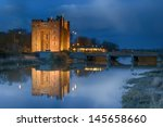 famous bunratty castle and... | Shutterstock . vector #145658660