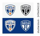 football club logo design... | Shutterstock .eps vector #1456656113