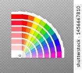 color palette guide on...   Shutterstock .eps vector #1456667810