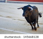 The Bull Running During A...
