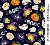 vector seamless pattern with... | Shutterstock .eps vector #1456700120
