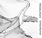 light halftone dots pattern... | Shutterstock .eps vector #1456740266