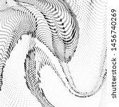 light halftone dots pattern... | Shutterstock .eps vector #1456740269