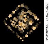 gold seashells vector  golden... | Shutterstock .eps vector #1456746023