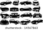 Stock vector vectorial image of cars 14567863