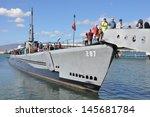 Постер, плакат: USS Bowfin Submarine as