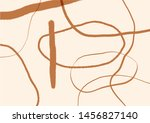 unusual freehand textures with... | Shutterstock .eps vector #1456827140