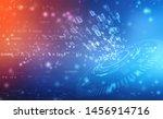 digital abstract technology... | Shutterstock . vector #1456914716