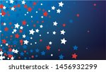 colors of american flag. usa... | Shutterstock .eps vector #1456932299