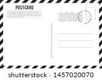 Blank Vintage Post Card...