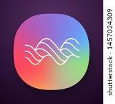 sound spiral wave app icon....