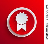 vector red circle icon. eps10   Shutterstock .eps vector #145708496