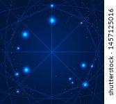 magic geometry sign. vector... | Shutterstock .eps vector #1457125016