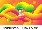 colorful geometric background....   Shutterstock .eps vector #1457127509