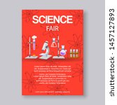 science fair and innovation... | Shutterstock .eps vector #1457127893