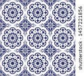 ceramic tile  portuguese tiles...   Shutterstock .eps vector #1457221856