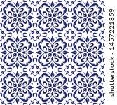 ceramic tile  portuguese tiles...   Shutterstock .eps vector #1457221859