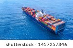 Container Ship Vessel Cargo...