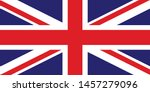 flag of great britain  of the... | Shutterstock .eps vector #1457279096