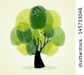 Go Green Identity Tree Finger...