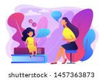 speech language pathologist.... | Shutterstock .eps vector #1457363873