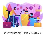 person adaptation with... | Shutterstock .eps vector #1457363879