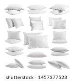 White Pillows Different Views...