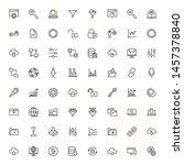 file storage icon set....