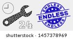dotted nonstop repair service...   Shutterstock .eps vector #1457378969