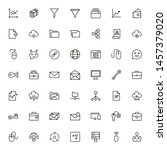 development icon set....   Shutterstock .eps vector #1457379020