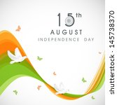 creative indian independence... | Shutterstock .eps vector #145738370