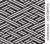 repeated monochrome pattern.... | Shutterstock .eps vector #1457389976
