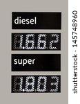 fuel price | Shutterstock . vector #145748960