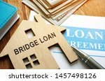 bridge loan and mortgage... | Shutterstock . vector #1457498126