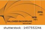 trick or treat halloween banner ... | Shutterstock .eps vector #1457552246