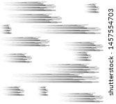 speed lines in arrow form .... | Shutterstock .eps vector #1457554703