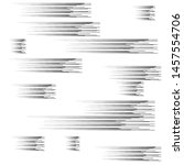 speed lines in arrow form .... | Shutterstock .eps vector #1457554706