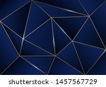abstract polygonal pattern... | Shutterstock .eps vector #1457567729