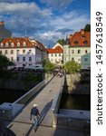 ljubljana  slovenia   july 12 ...   Shutterstock . vector #1457618549