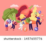 healthy lifestyle  organic food ... | Shutterstock .eps vector #1457655776