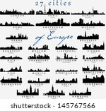 set of detailed vector... | Shutterstock .eps vector #145767566