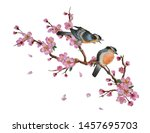 Watercolor Traditional Chinese...