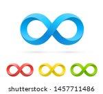 symbol of infinity art info ... | Shutterstock .eps vector #1457711486