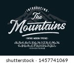 """"""" the mountains"""". vintage... 