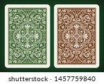 back side design   playing... | Shutterstock .eps vector #1457759840