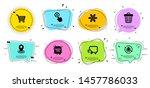 quick tips  trash bin and... | Shutterstock .eps vector #1457786033