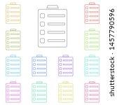 medical clipboard multi color...