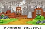 natural environment scenes... | Shutterstock .eps vector #1457814926