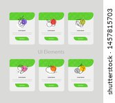 colorful web and app cards with ...