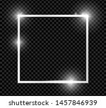 silver shiny glowing vintage... | Shutterstock .eps vector #1457846939